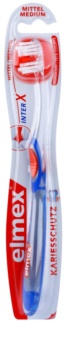 Elmex Caries Protection interX escova de dentes medium