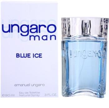 Emanuel Ungaro Man Blue Ice toaletná voda pre mužov 90 ml