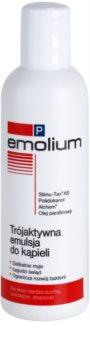 Emolium Wash & Bath P emulsión de baño con triple acción