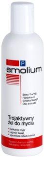 Emolium Wash & Bath P gel de ducha con triple acción