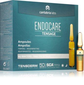 Endocare Tensage ampule se zpevňujícím účinkem