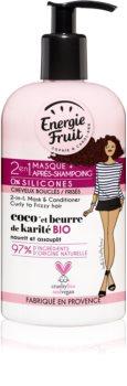 Energie Fruit Coconut маска 2в1 для волнистых и вьющихся волос