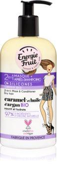 Energie Fruit Caramel masque 2 en 1 pour cheveux secs