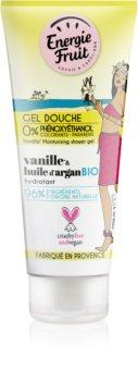 Energie Fruit Vanilla gel za tuširanje s arganovim uljem