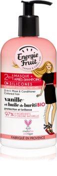 Energie Fruit Vanilla masque 2 en 1 pour cheveux colorés