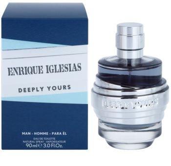 Enrique Iglesias Deeply Yours toaletná voda pre mužov