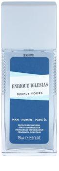 Enrique Iglesias Deeply Yours deodorant s rozprašovačem pro muže