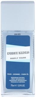 Enrique Iglesias Deeply Yours deodorante con diffusore per uomo