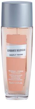 Enrique Iglesias Deeply Yours desodorizante vaporizador para mulheres