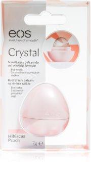EOS Crystal Hibiscus Peach balsamo idratante labbra