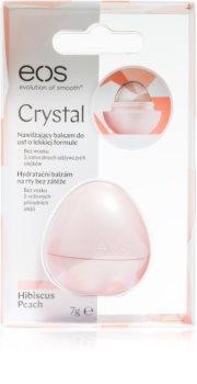 EOS Crystal Hibiscus Peach hidratáló ajakbalzsam