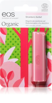 EOS Strawberry Sorbet natürliches Balsam für Lippen