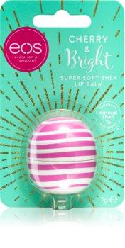 EOS Super Soft Shea Cherry Bright hidratantni balzam za usne