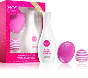 EOS Super Soft Shea Cherry Geschenkset II.
