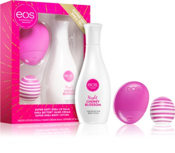 EOS Super Soft Shea Cherry set cadou II.