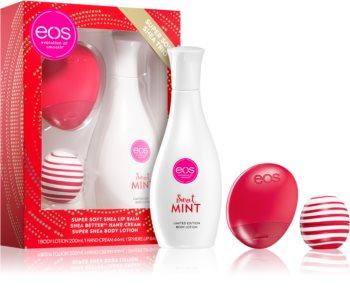 EOS Super Soft Shea Mint dárková sada III.
