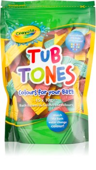 EP Line Crayola Tub Tones raznobojne šumeće tablete za kupku
