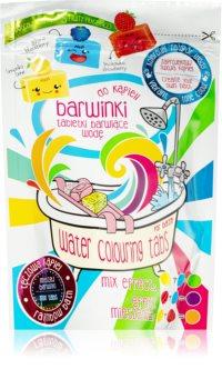 EP Line Foam Makers Farverige og brusende badetabletter