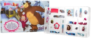 EP Line Masha and The Bear kalendarz adwentowy dla dzieci