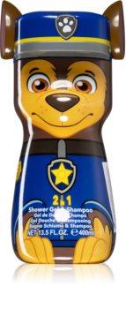 EP Line Paw Patrol Chase gel de duche e champô 2 em 1 para crianças