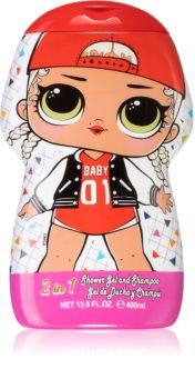 EP Line LOL gel de douche et shampoing 2 en 1 pour enfant