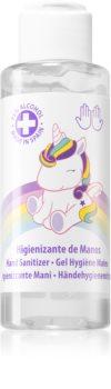 EP Line My Unicorn gel de limpeza para as mãos para crianças