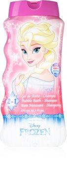 EP Line Frozen gel de duche e champô 2 em 1 para crianças