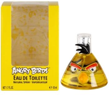 EP Line Angry Birds Yellow eau de toilette para niños 50 ml