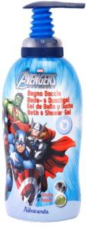 EP Line Los Vengadores espuma de baño y gel de ducha 2 en 1 para niños