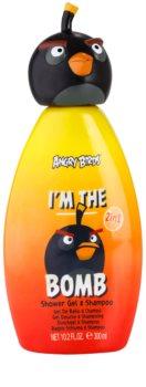 EP Line Angry Birds I'm the Bomb champú y gel de ducha 2 en 1