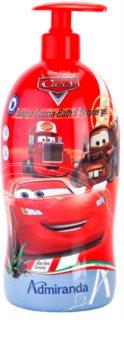EP Line Cars 2 espuma de baño y gel de ducha 2 en 1 para niños