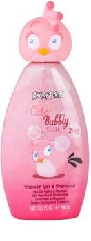 EP Line Angry Birds Cute Bubbly šampon i gel za tuširanje 2 u 1