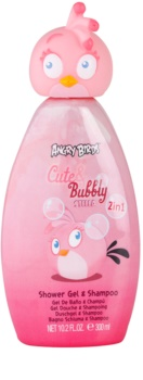 EP Line Angry Birds Cute Bubbly shampoo e doccia gel 2 in 1