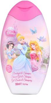 EP Line Las Princesas de Disney Disney Princess gel de ducha y champú 2en1