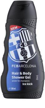 EP Line FC Barcelona Ice Kick σαμπουάν και αφρόλουτρο  2 σε 1