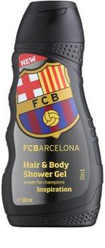 EP Line FC Barcelona Inspiration Schampo och duschtvål 2-i-1
