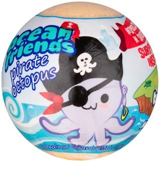 EP Line Ocean Friends šumivá guľa do kúpeľa s figúrkou