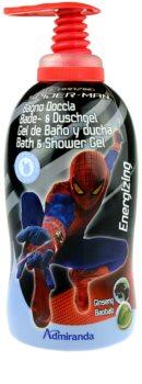 EP Line Spiderman gel de duche e banho para crianças