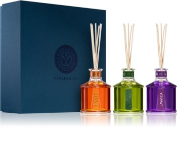 Erbario Toscano Home Fragrances aróma difúzor s náplňou (darčeková sada)