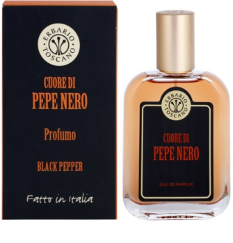 Erbario Toscano Black Pepper Eau de Parfum pentru bărbați