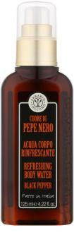 Erbario Toscano Black Pepper telový sprej pre mužov