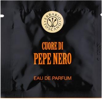 Erbario Toscano Black Pepper geparfumeerde doekjes  voor Mannen
