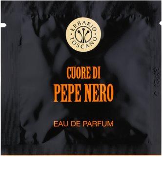 Erbario Toscano Black Pepper Hajustetut Pyyhkeet Miehille