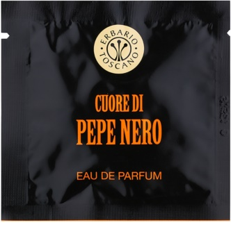 Erbario Toscano Black Pepper toalhitas perfumadas para homens