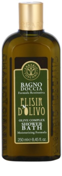 Erbario Toscano Elisir D'Olivo Brus og badegel med fugtgivende virkning