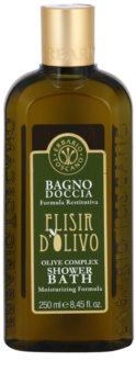 Erbario Toscano Elisir D'Olivo Dusch- och badtvål med återfuktande effekt