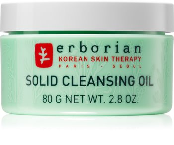 Erborian 7 Herbs Solid Cleansing Oil балсам за почистване и премахване на грим 2 в 1