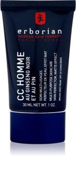 Erborian CC Crème Men feuchtigkeitsspendende Creme für gleichmäßige Haut mit Matt-Effekt SPF 25