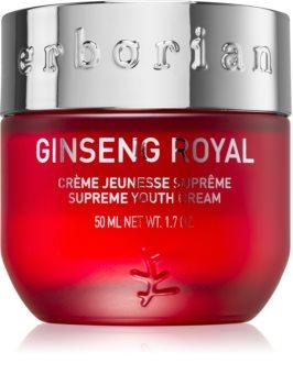 Erborian Ginseng Royal cremă de față cu efect de netezire, pentru atenuarea semnelor de îmbătrânire
