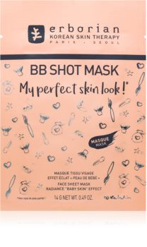 Erborian BB Shot Mask maschera in tessuto illuminante